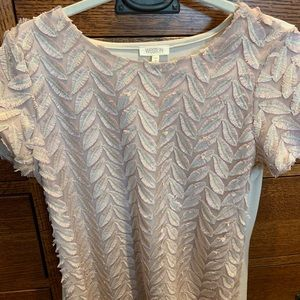 Weston pink feather t-shirt